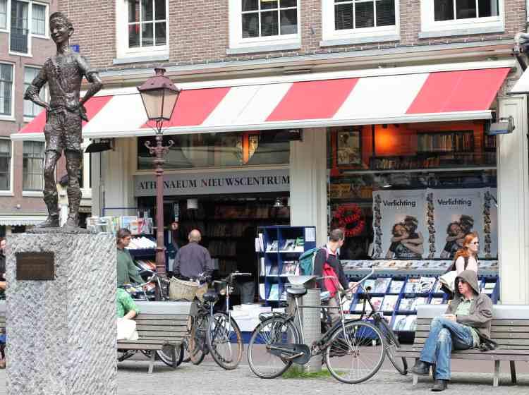 Amsterdam Athenaeum bookshop