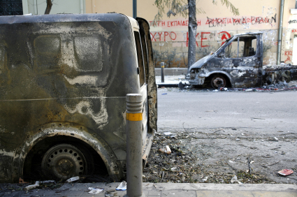 Athens riots December 2008