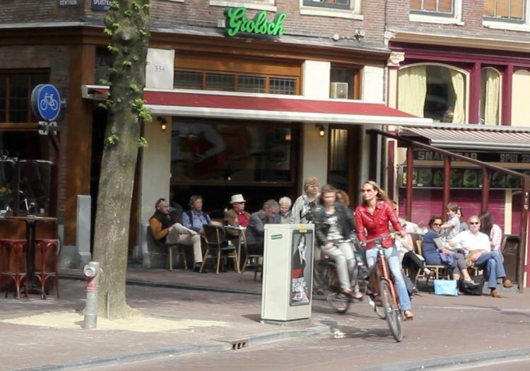 Amsterdam literary cafe