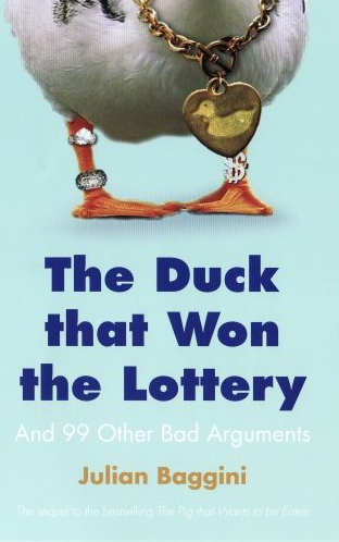 Duck that won the lottery cover