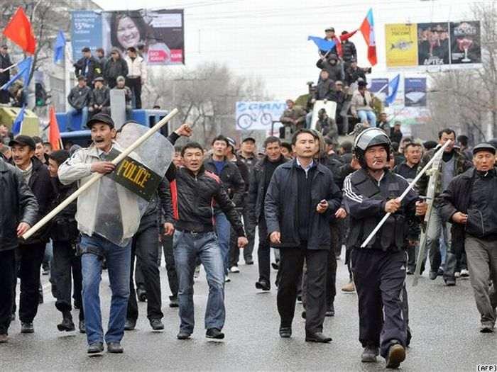 Kyrgyz Unrest, 2010