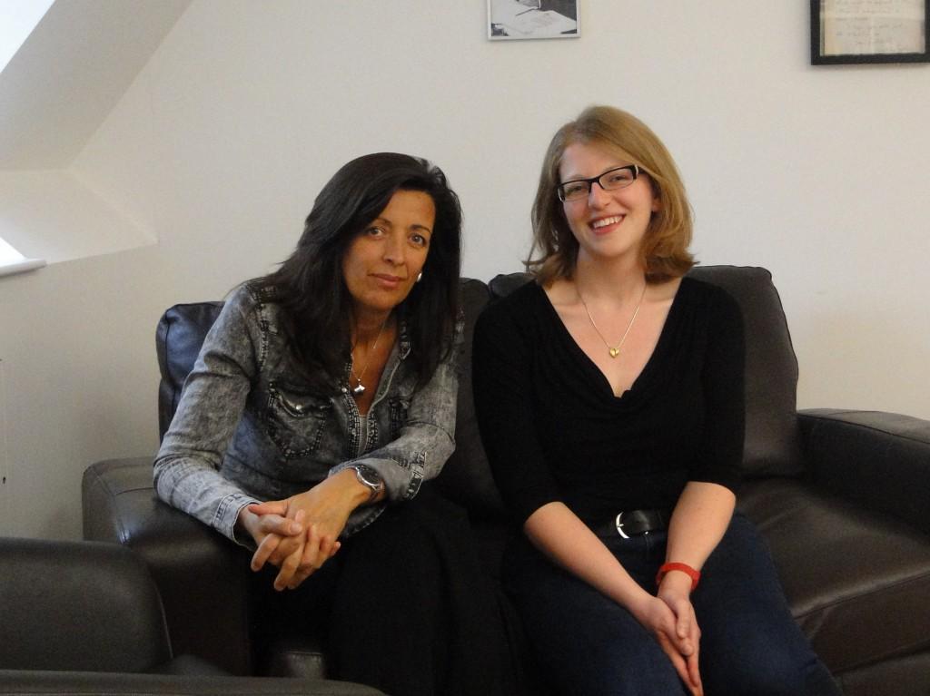 Louise Doughty and Sarah Savitt