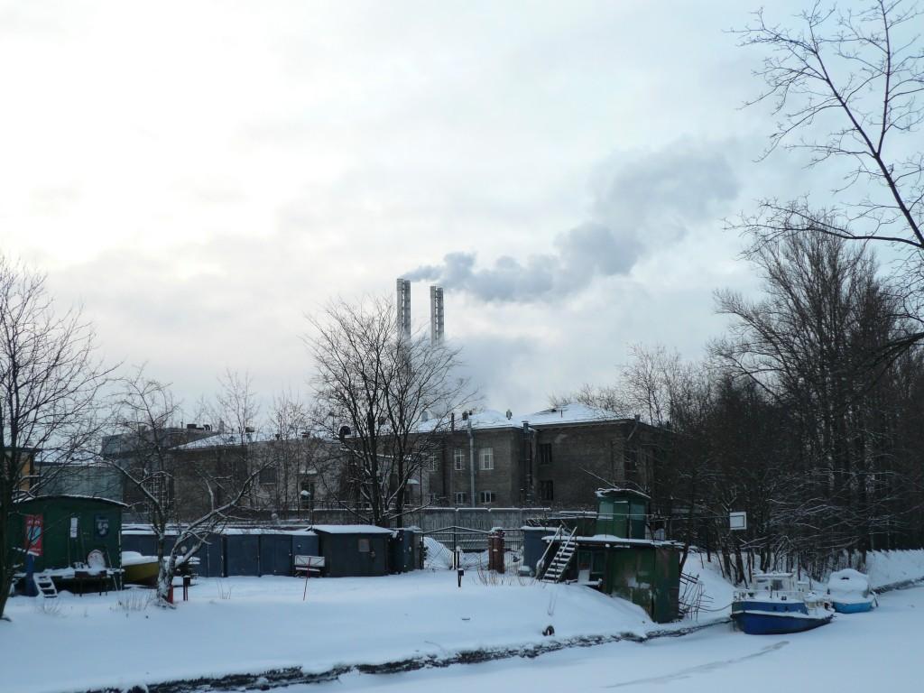 Nab. reki Karpovki smoke