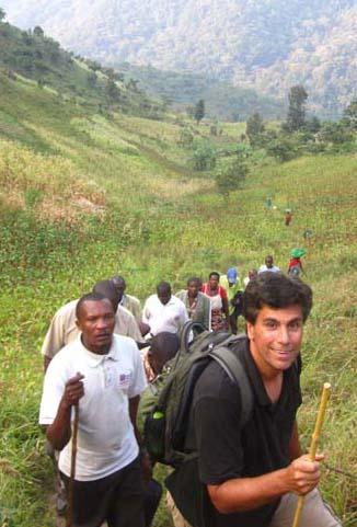 Craig Stanford, Uganda, 2010